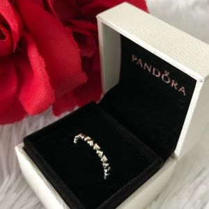 Pandora Ring: Forever Love Hearts Ring